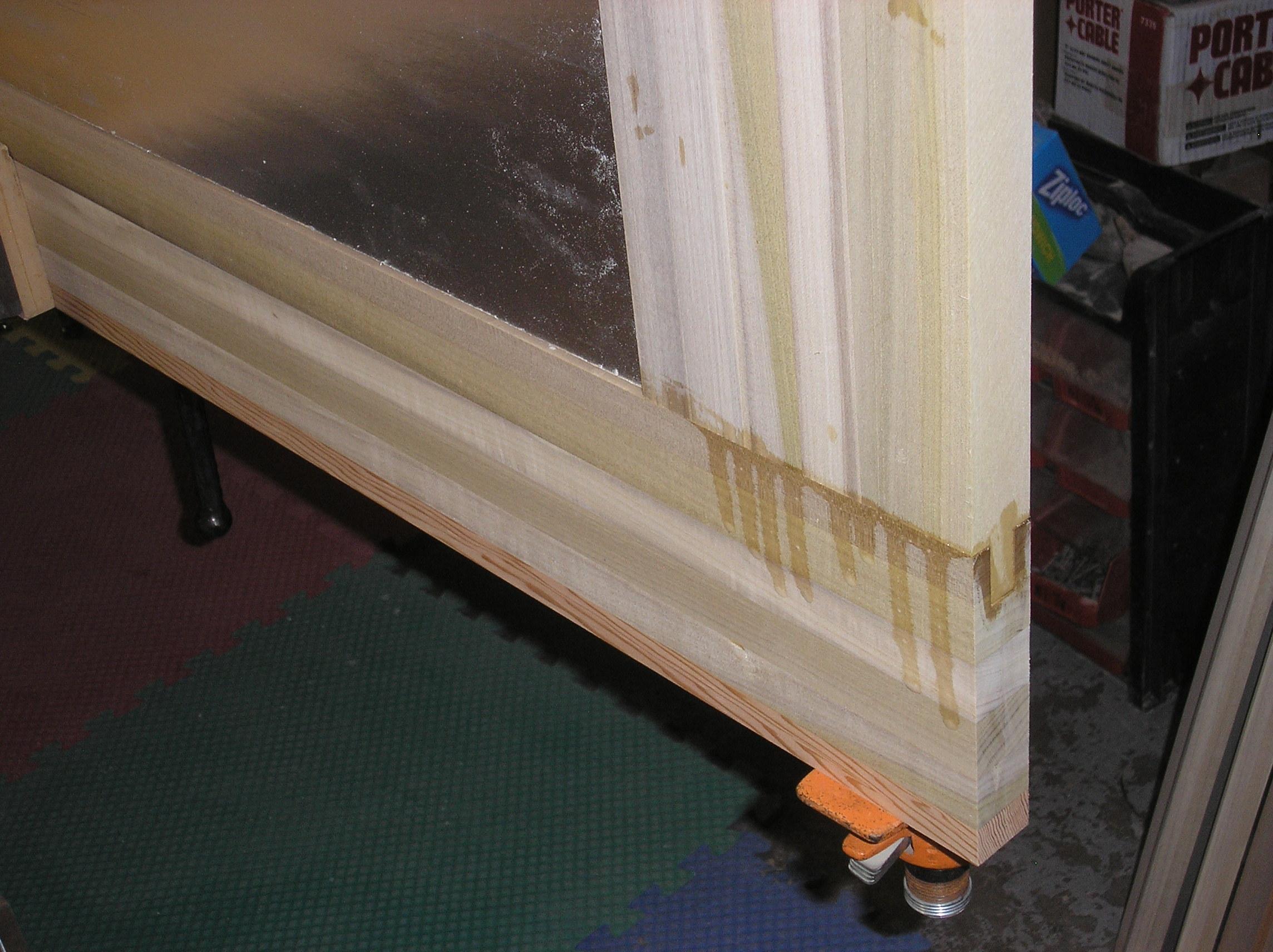 Door lamination glue up.JPG