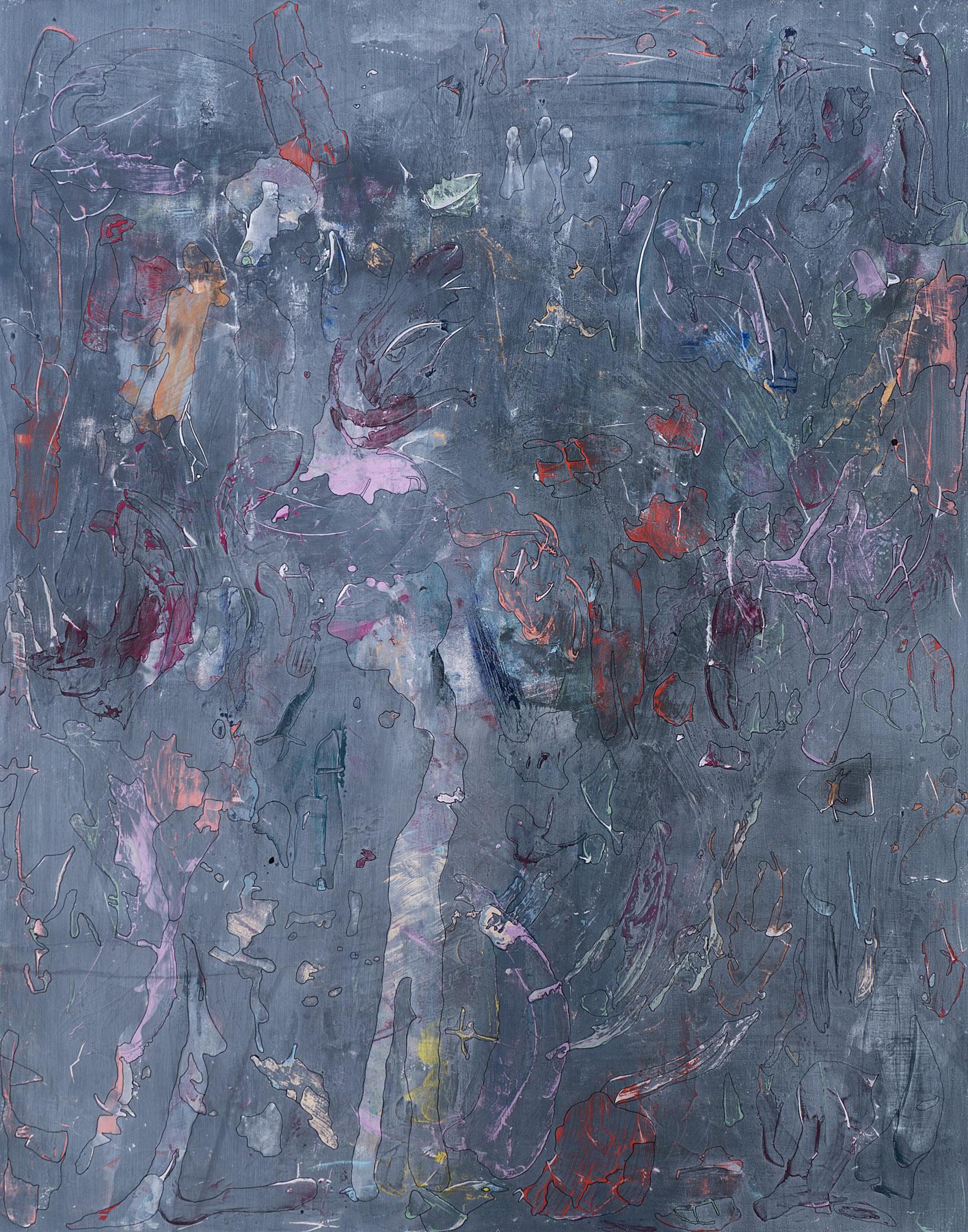 The Story , 2015, malt på Ekely