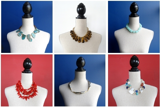 ONE-OF-A-KIND STATEMENT NECKLACES - Call or email for current photos of available necklacesfrom $120.00 to $240.00 wholesale