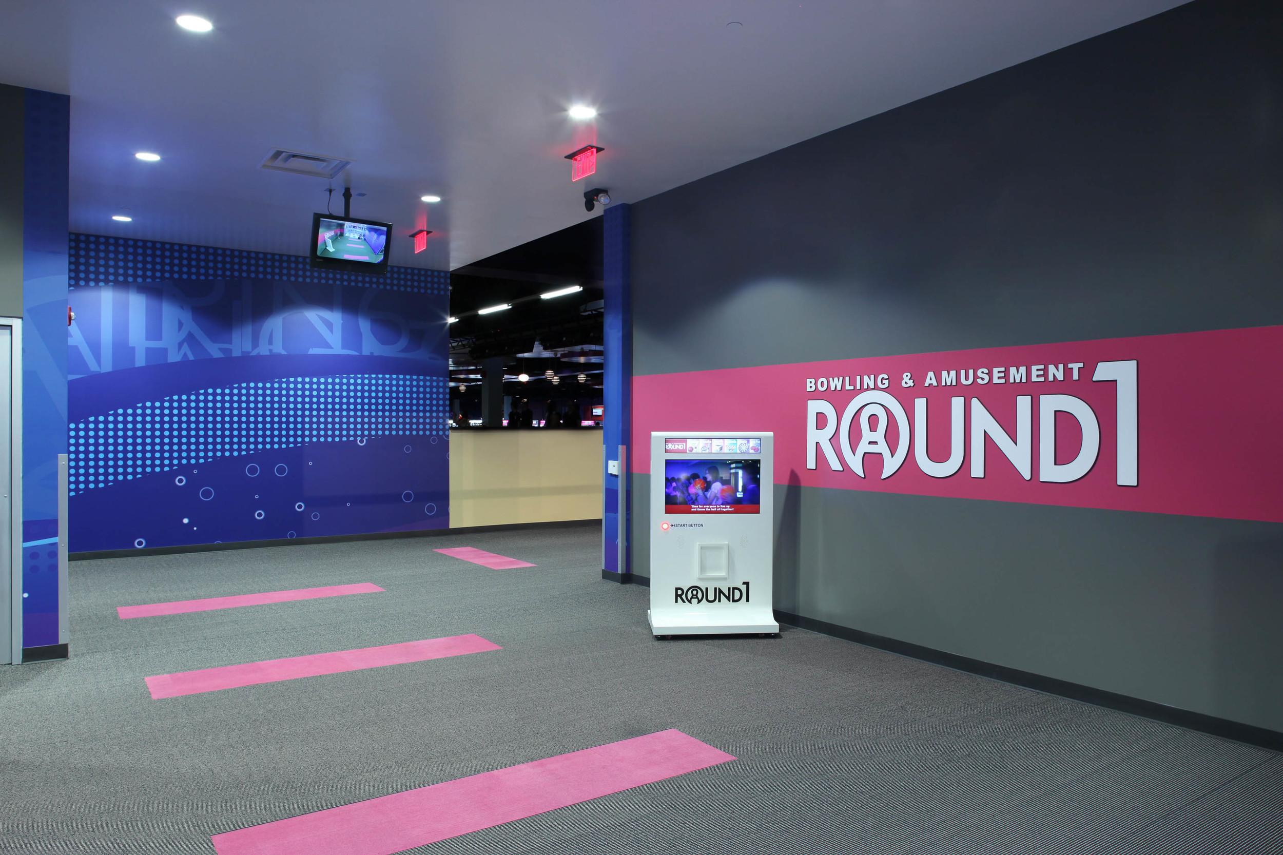 Round1 Bowling & Amusement Entrance