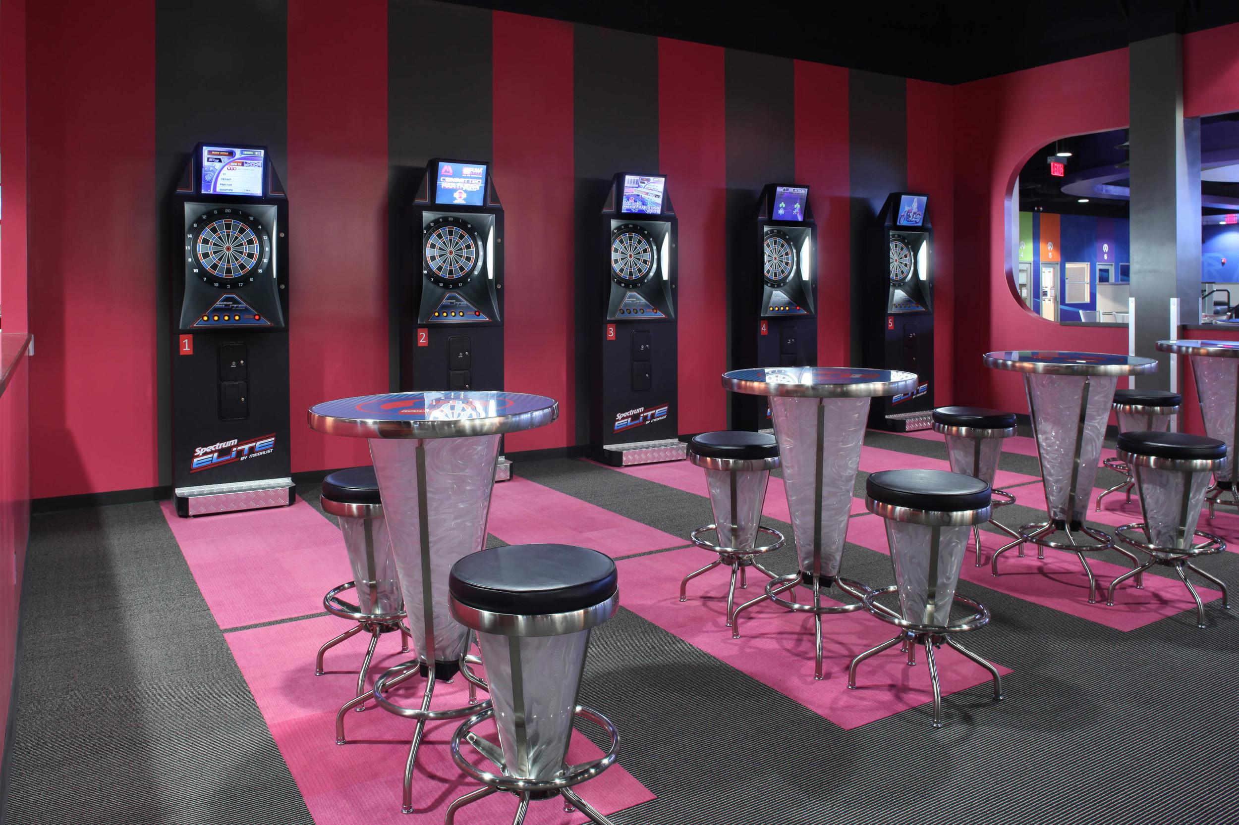 round1 Bowling & Amusement Darts