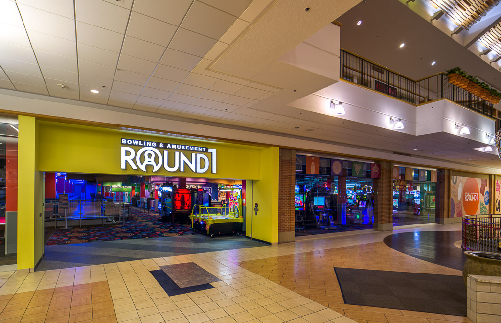 Entrance to Round1 Bowling & Amusement