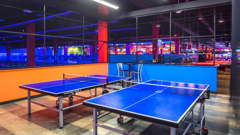 Round1 Bowling & Amusement Ping-Pong Room