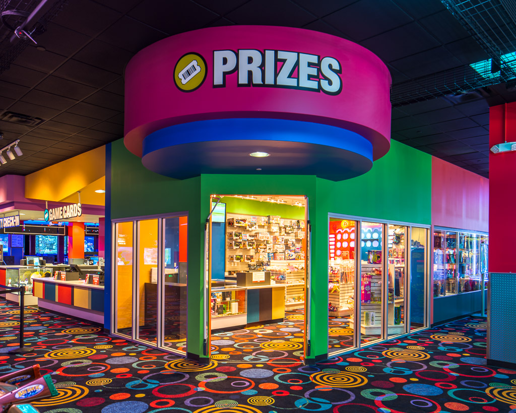 Round1 Bowling & Amusement Prizes Room