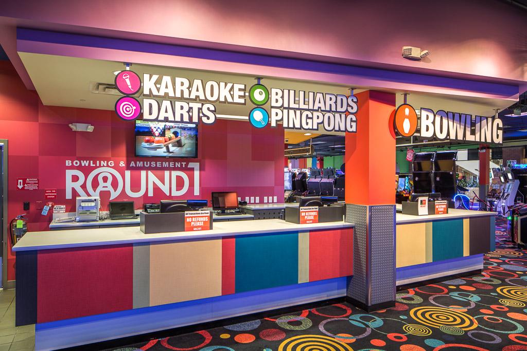 Round1 Bowling & Amusement Amenities Station