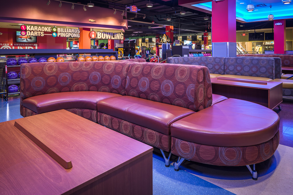 Round1 Bowling & Amusement Couches