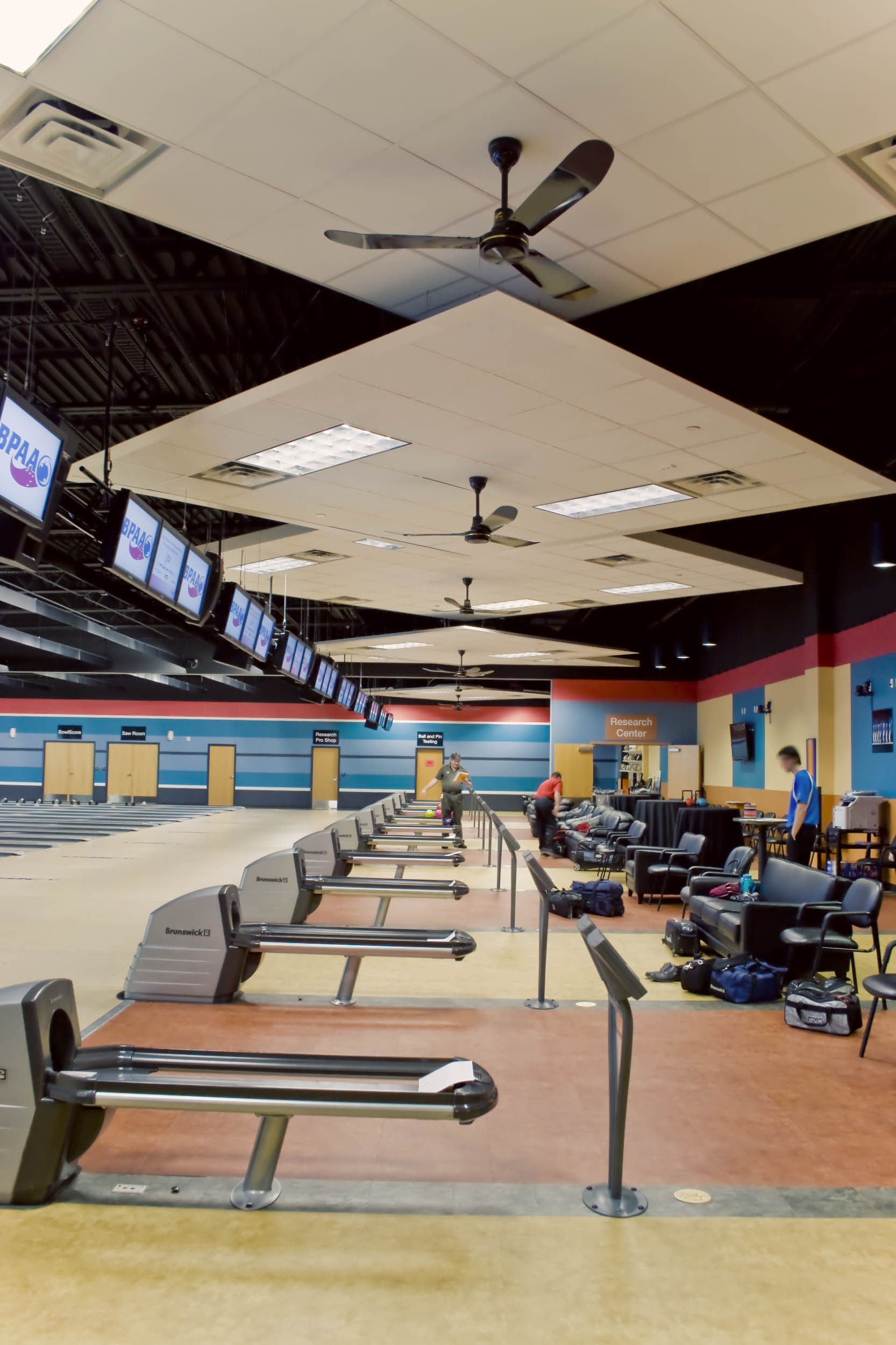 USBC Bowling Alley Side View
