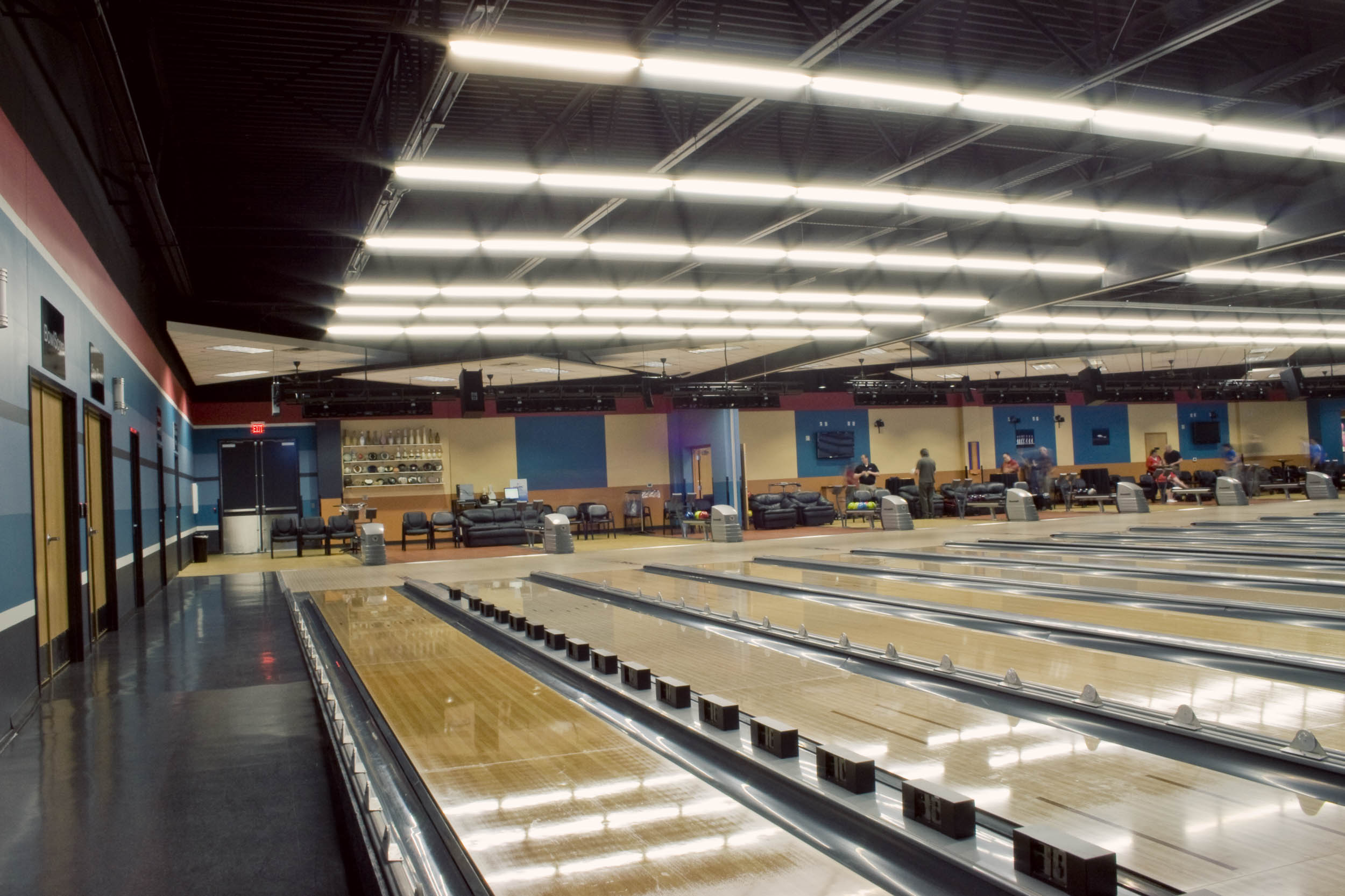 USBC Bowling Alley Angle View