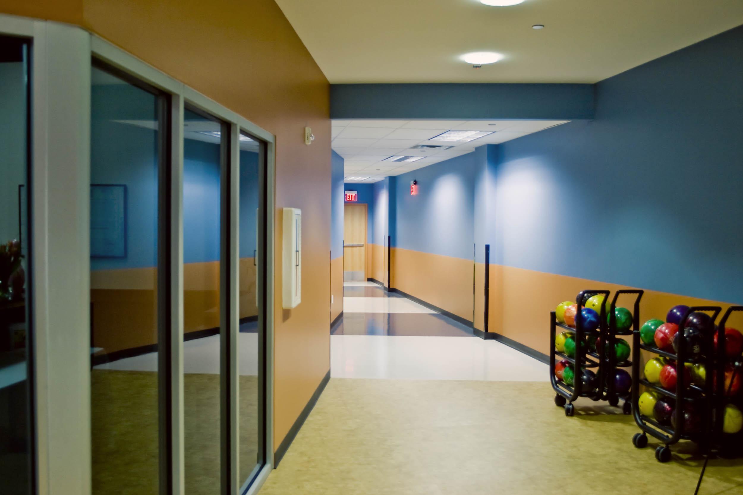 USBC Bowling Hallway