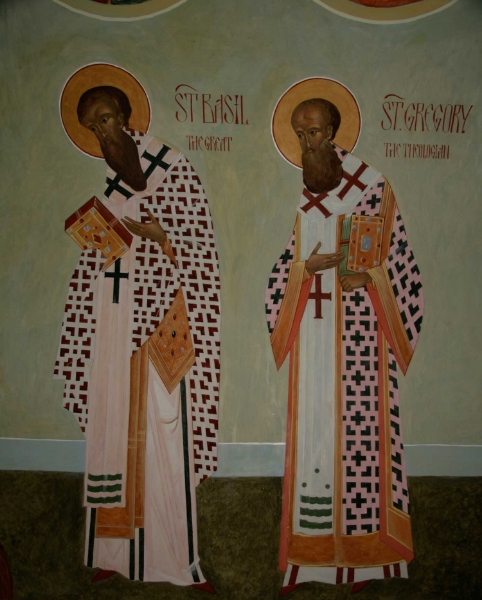 St Basil the Great and St Gregory the Theologian