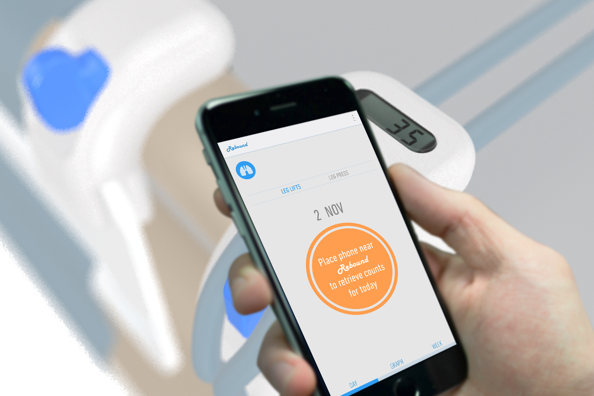 A mobile application aids physiotherapists in tracking the progress of multiple patients at a go.