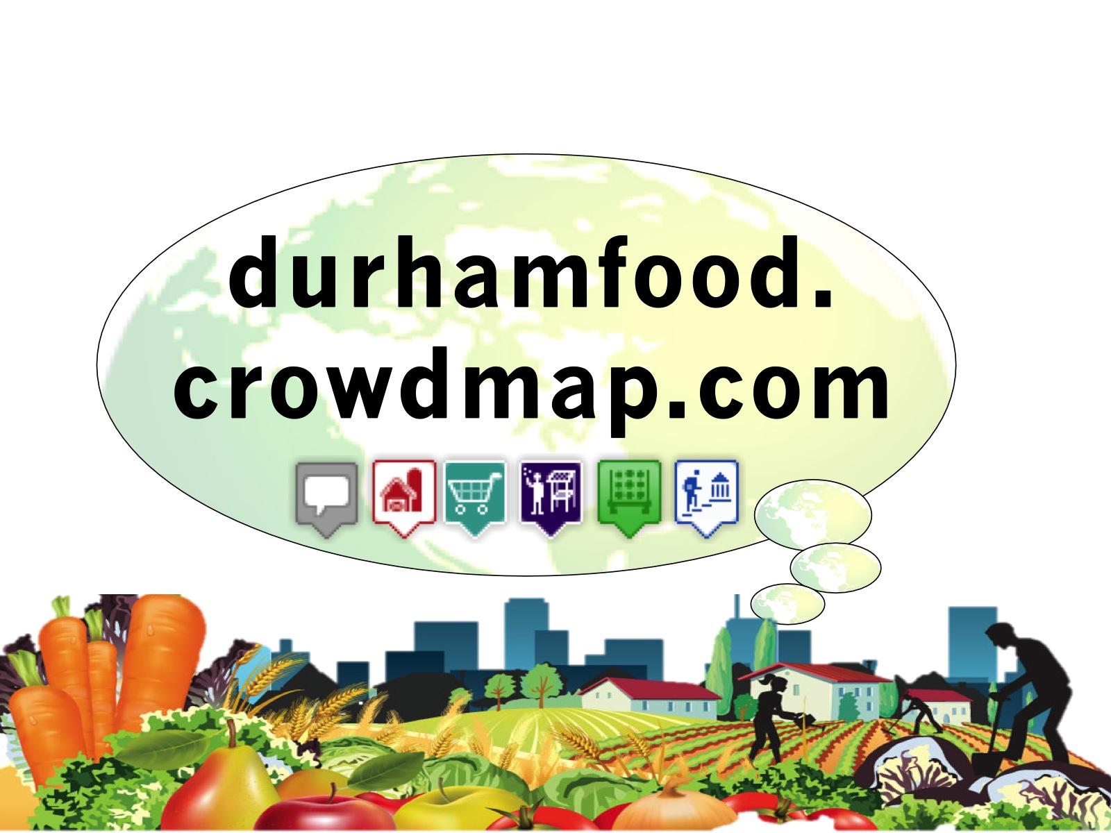 Durham Food Map image