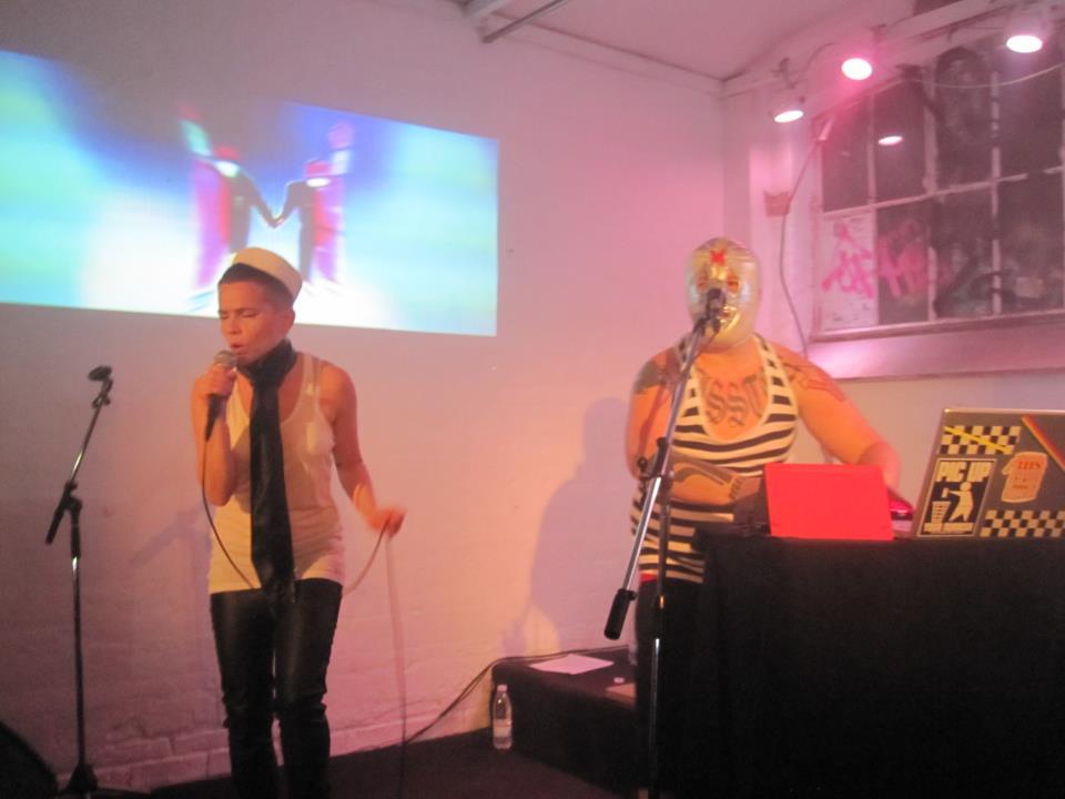 iMi performing at Warehouse9 in Copenhagen 2012