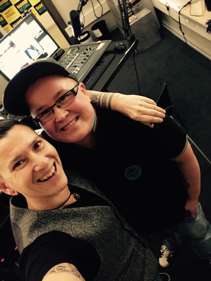 Transforces at Radio Helsinki, Ihan homona! -radio show, fall 2014