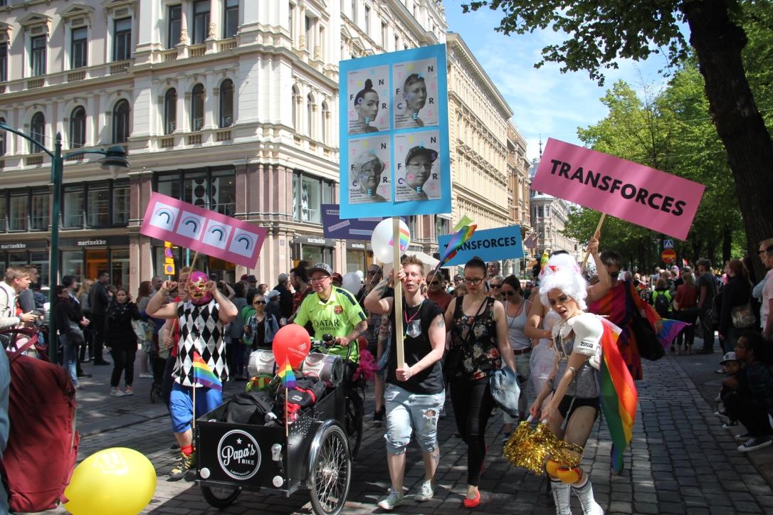 Helsinki Pride 2015 parade