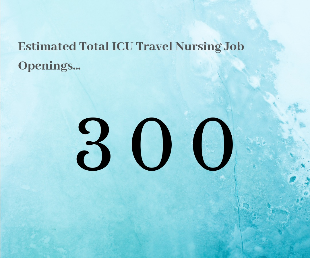What this means for ICU Travel Nurses… - It's still WARM out there, so dive right in! We know we have seen warmer, but keep your eye on this for sure! There is still great opportunity that seems likely to grow. We'll be watching for another turn in the right direction as we reach next quarter!