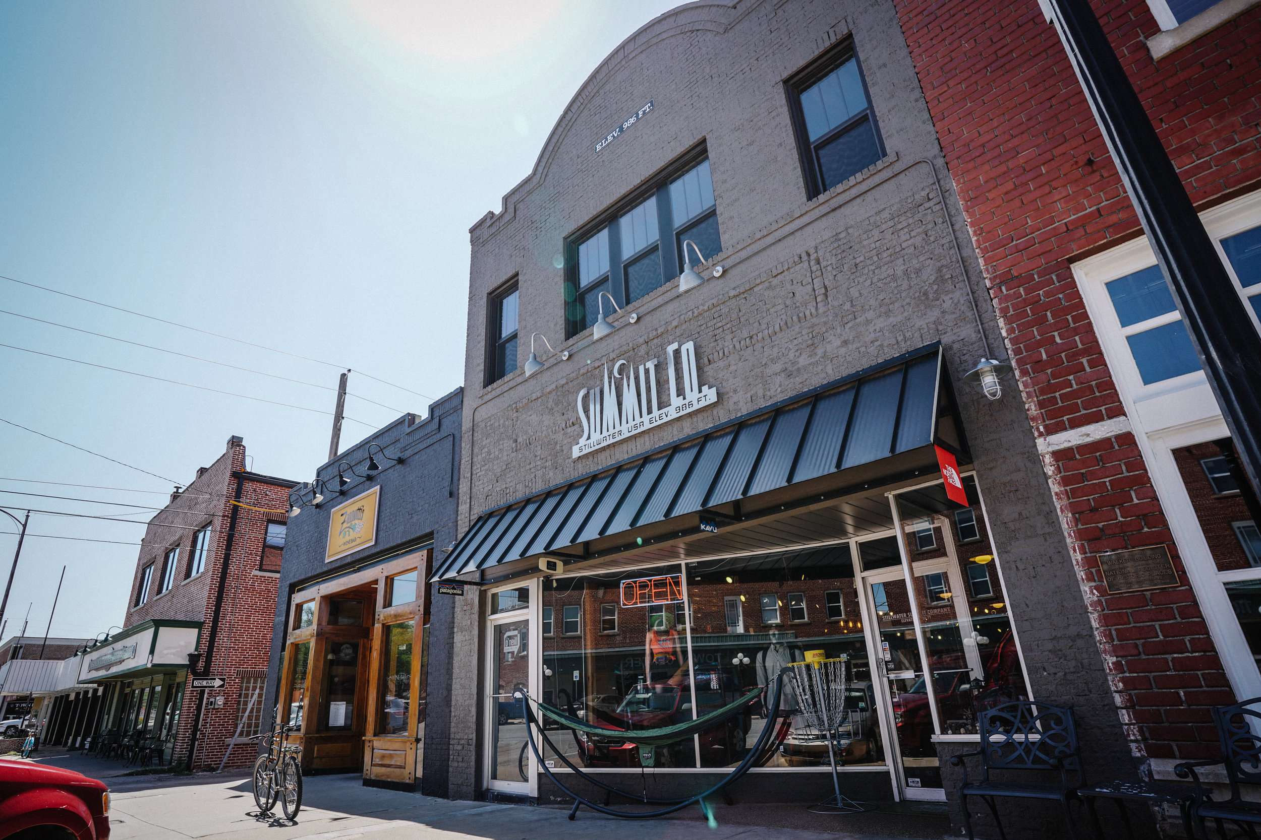 Summit's location since 2005 - Downtown Stillwater on 7th Ave.