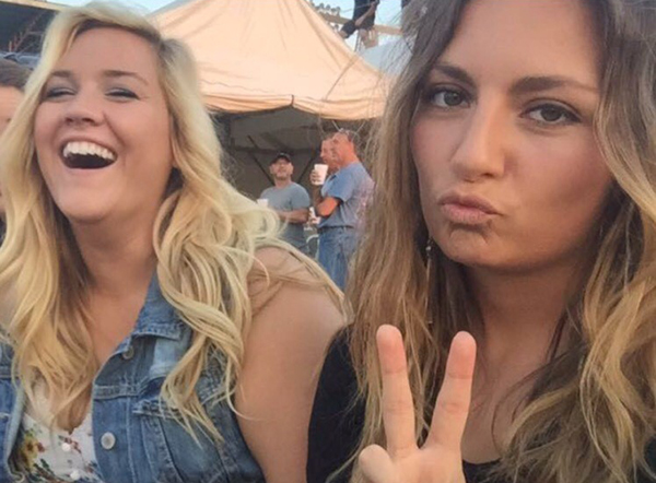 Sam and Maggie at the Charlie Daniels Band concert at the KY State Fair