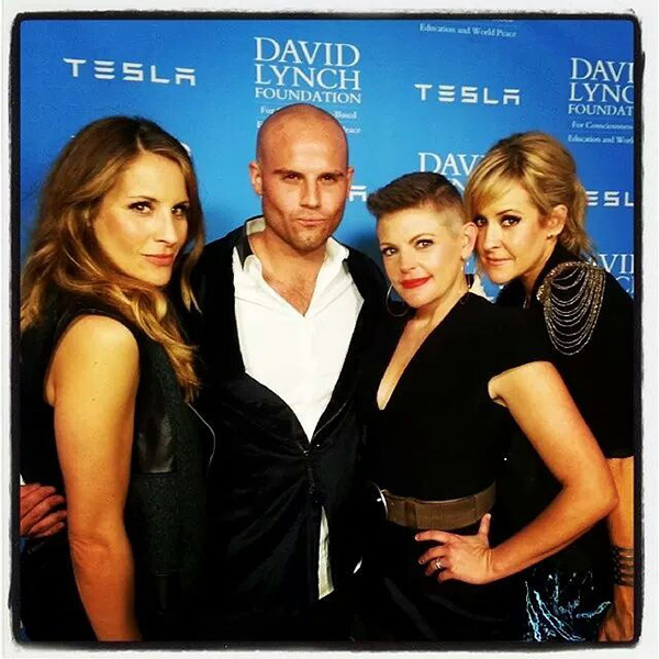 The Chicks performed in honor or Rick Rubin for the David Lynch Foundation in 2014.