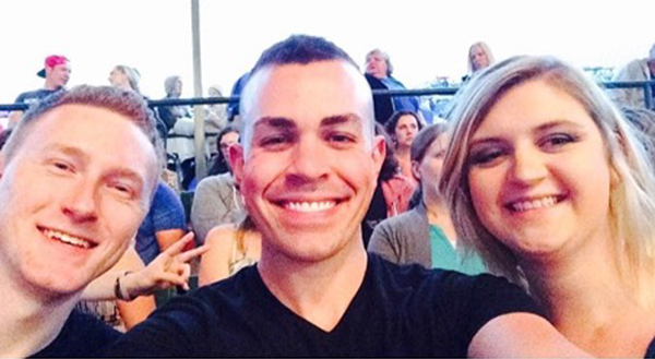 Ryan with two of his friends that he has converted to DCX fans at the Detroit MMXVI Show.