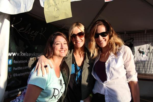 Michaela, Martie, & friend at Summerfest