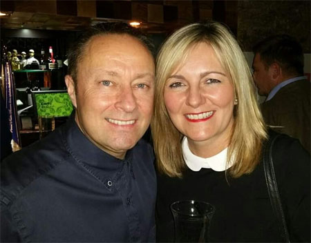 Tony and his wife Jo
