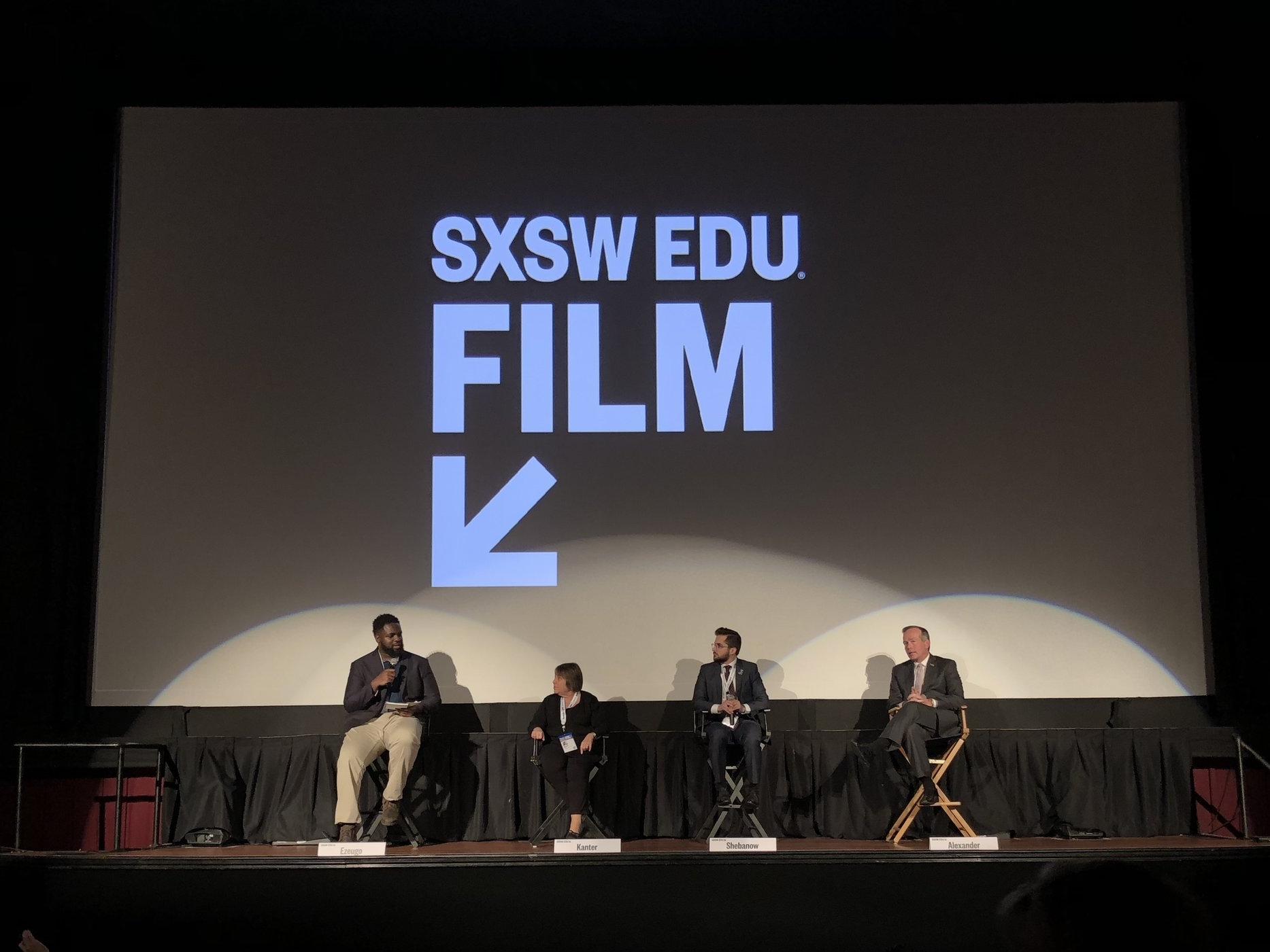 Post-screening panel.