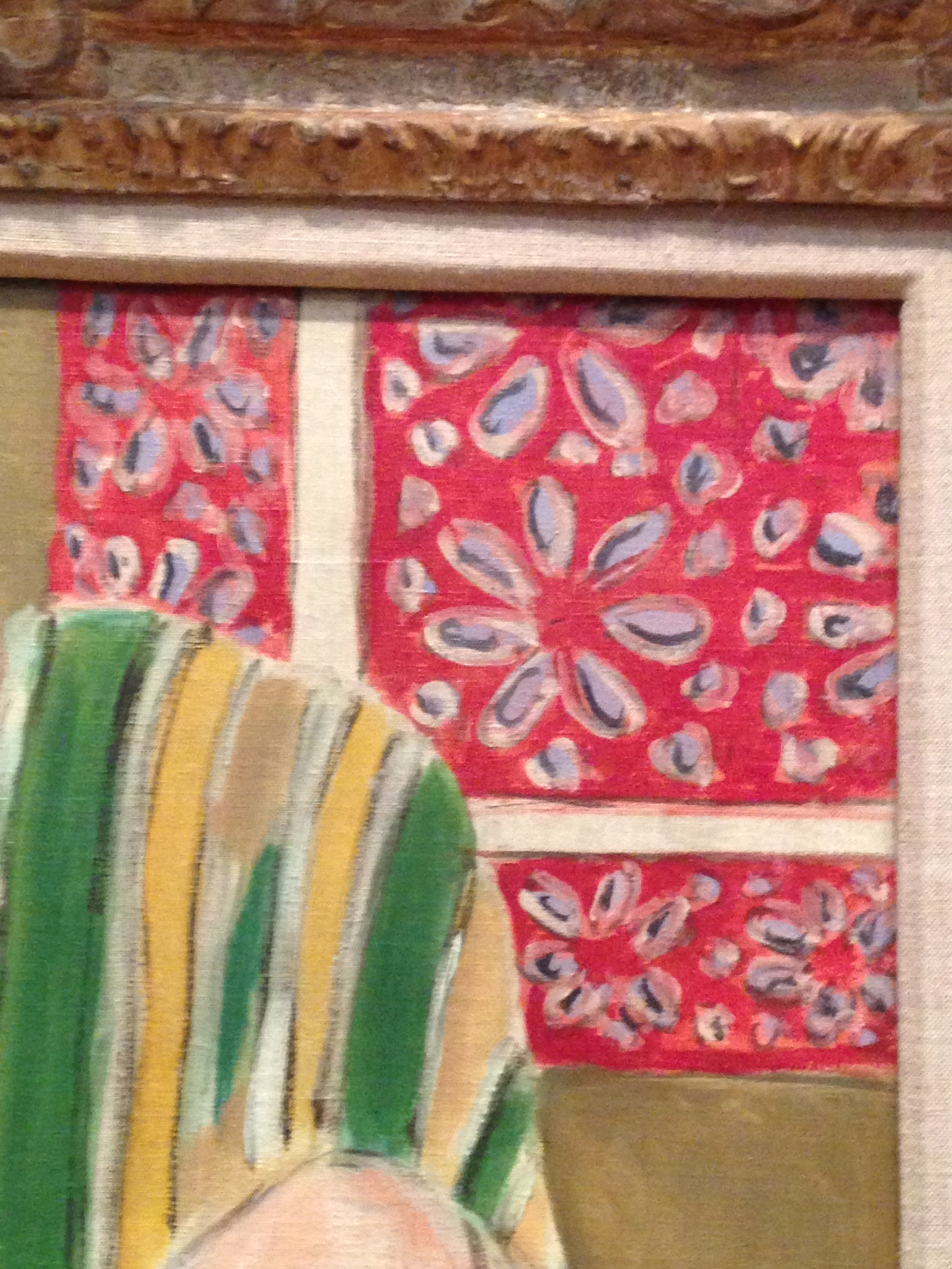 "detail of ""Odalisque Seated with Arms Raised"" by Henri Matisse"