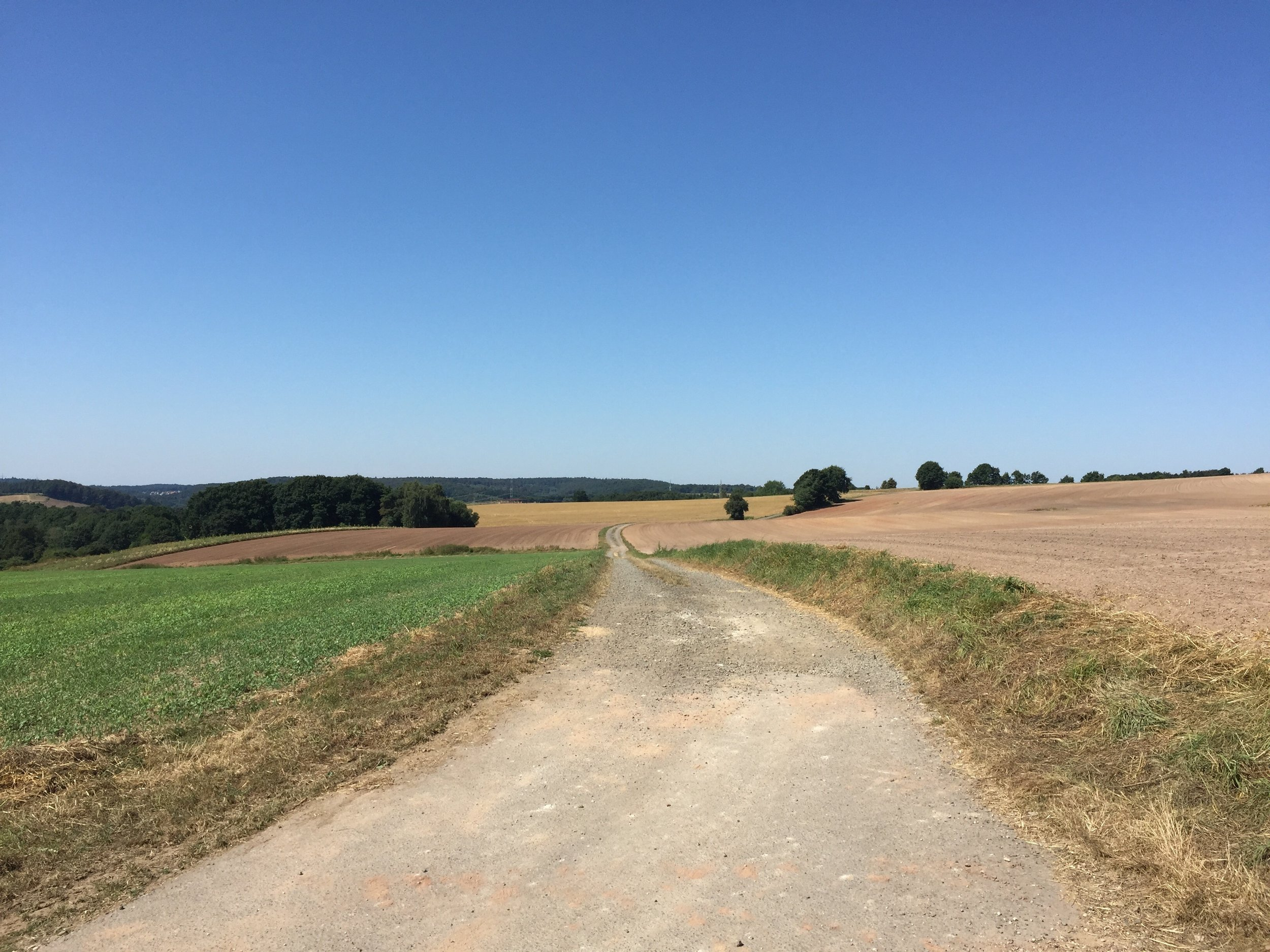 Country road in Sembach