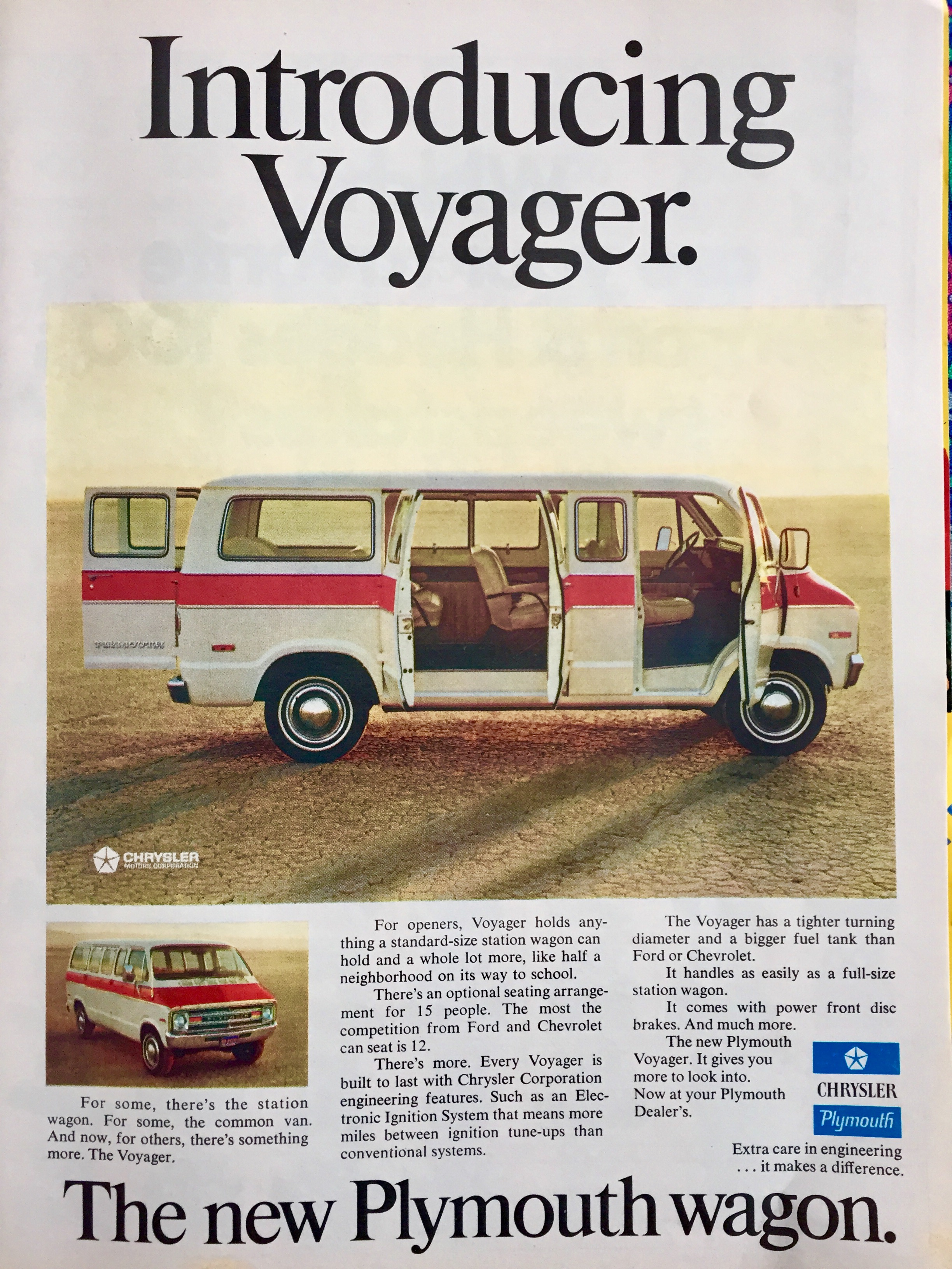 Meet the new Voyager, future van of choice for serial killers.