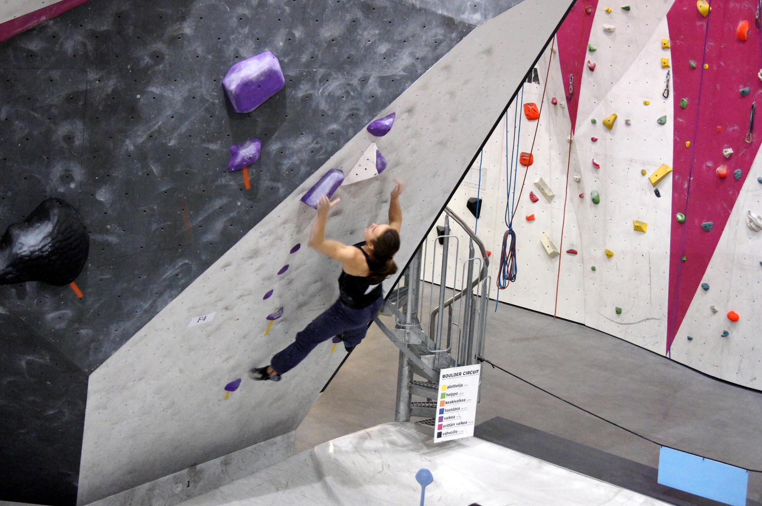 Lea Schmitthenner tok andreplassen i Youth B Girls [Foto: Thor-Henrik Kvandahl]