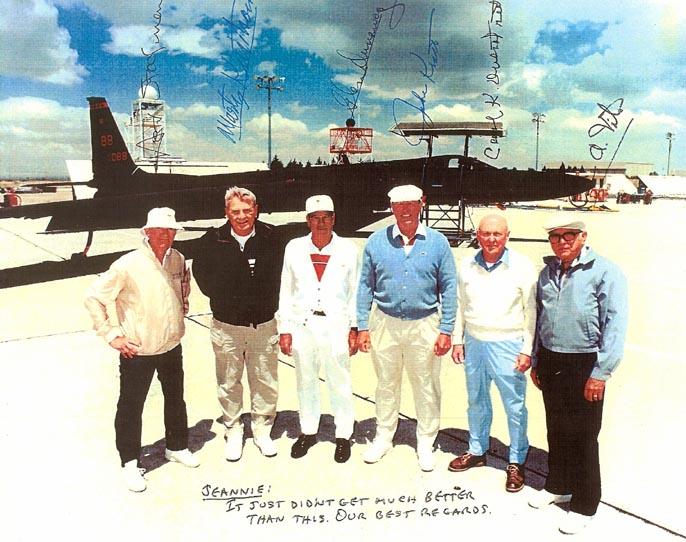First 6 CIA U-2 Pilots