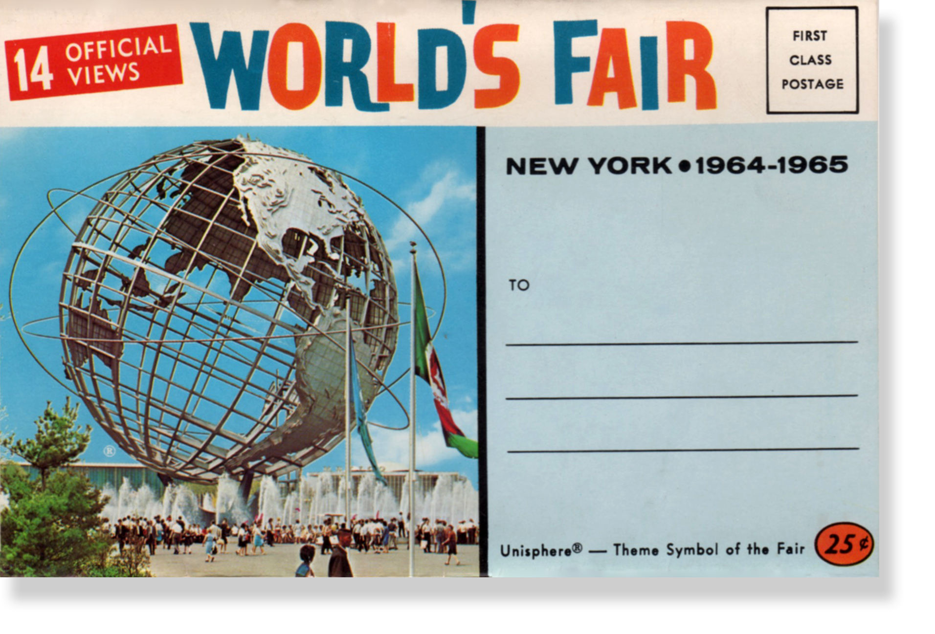 BORN – Queens, NY. Home of the Unisphere