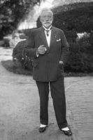 In exile in 1933, the same year Hitler achieved the previously unthinkable and nabbed the position of Chancellor