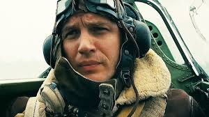 With such a well constructed face, one would think Tom Hardy would spend more time showing it off than covering it up. Alas, the depth of emotions he  can  convey are largely hidden by his mask. In this rare moment he has the mask removed, but for the majority of the film we see only his eyes.