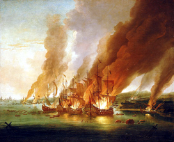 The Battle of La Hogue in 1692 was the last French effort to gain control of the seas. After this, an Anglo-Dutch supremacy at sea was assured. On land though, it was an altogether different story...