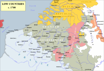 The Low Countries remained a critical sphere of the wars fought by Louis XIV, not to mention a critical concern of the rest of Europe. Allow France to gain too strong a footing here, and she'd be unstoppable. Yet, just who was prepared to stop her   before  she marched guns blazing into some random fortresses in Flanders? Coalitions were the only way to oppose what the King of France had in mind.