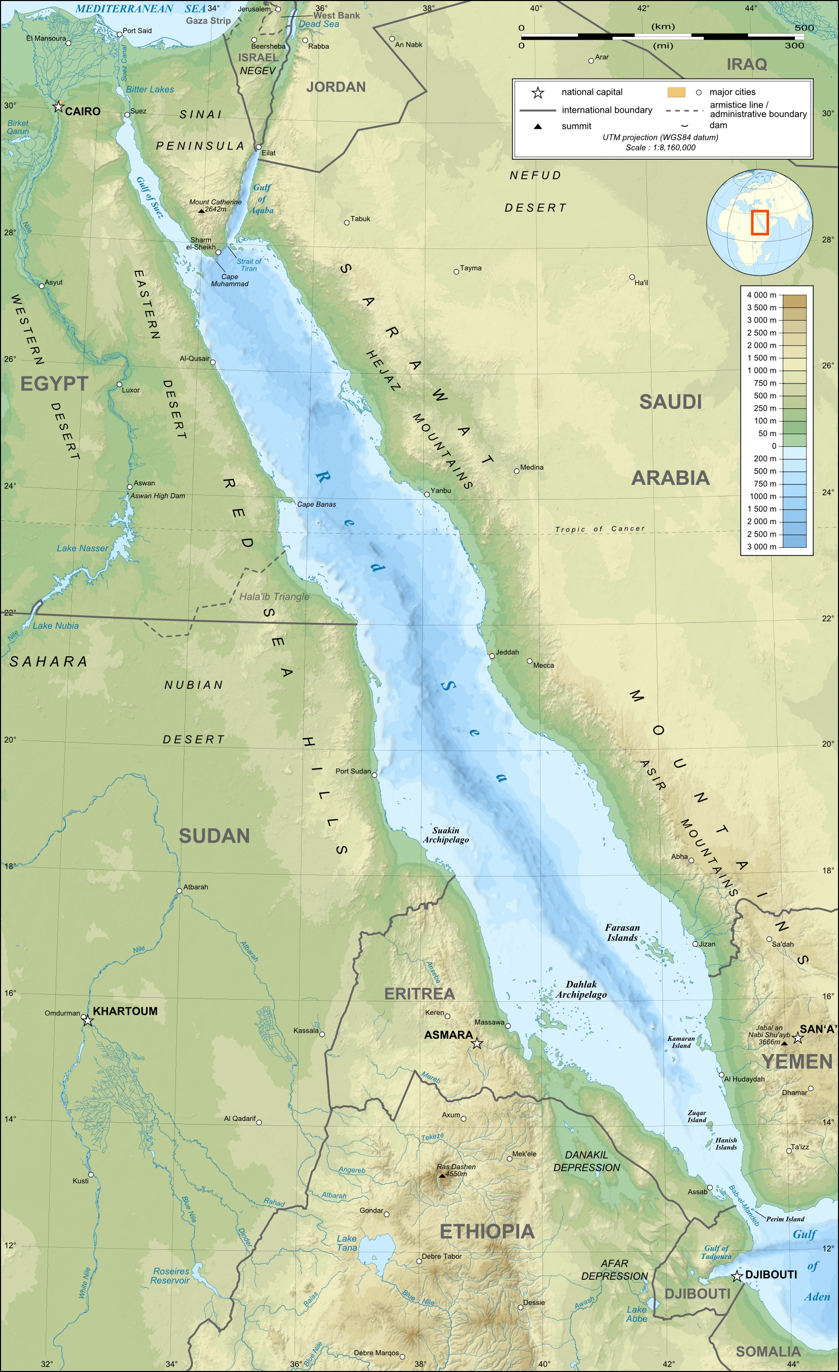 The Suez Canal was a part of the world's history, and it was Britain's imperial lynch-pin for several decades, before some crazy Egyptian colonel went and ruined everything...
