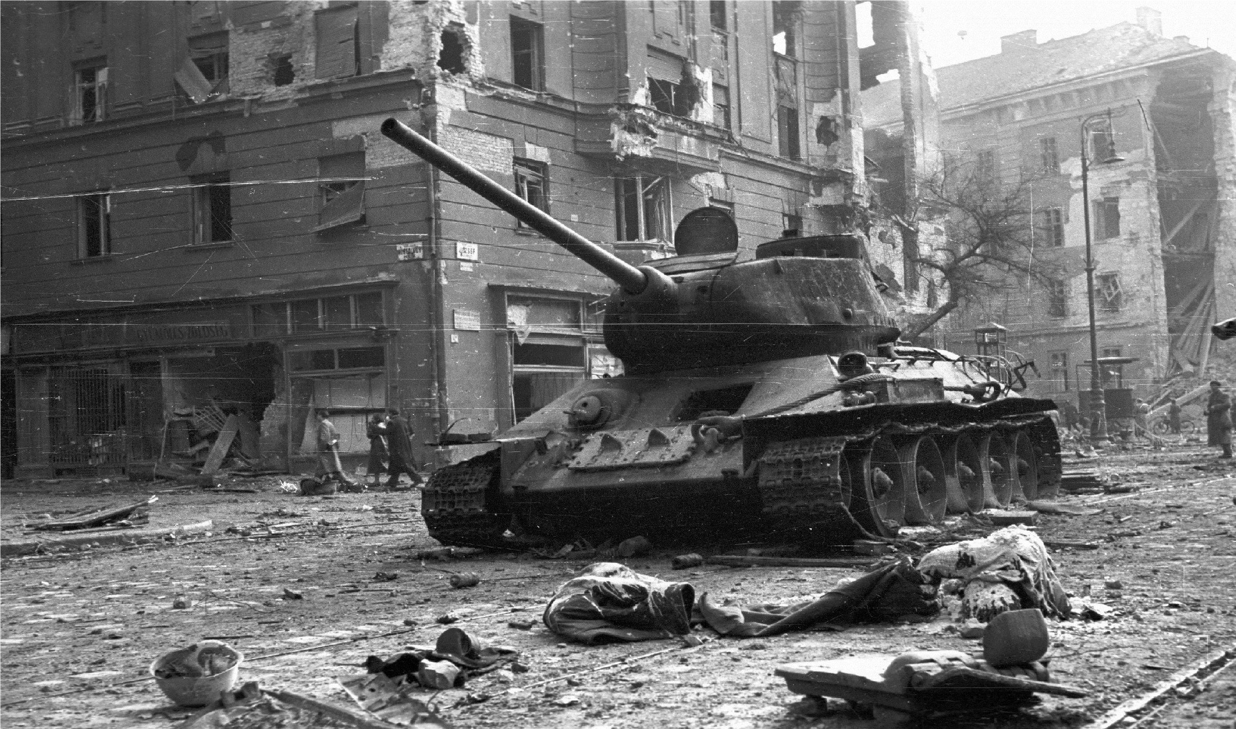 Soviet might saw Budapest blown to smithereens, as cynicism and prestige were on full display.