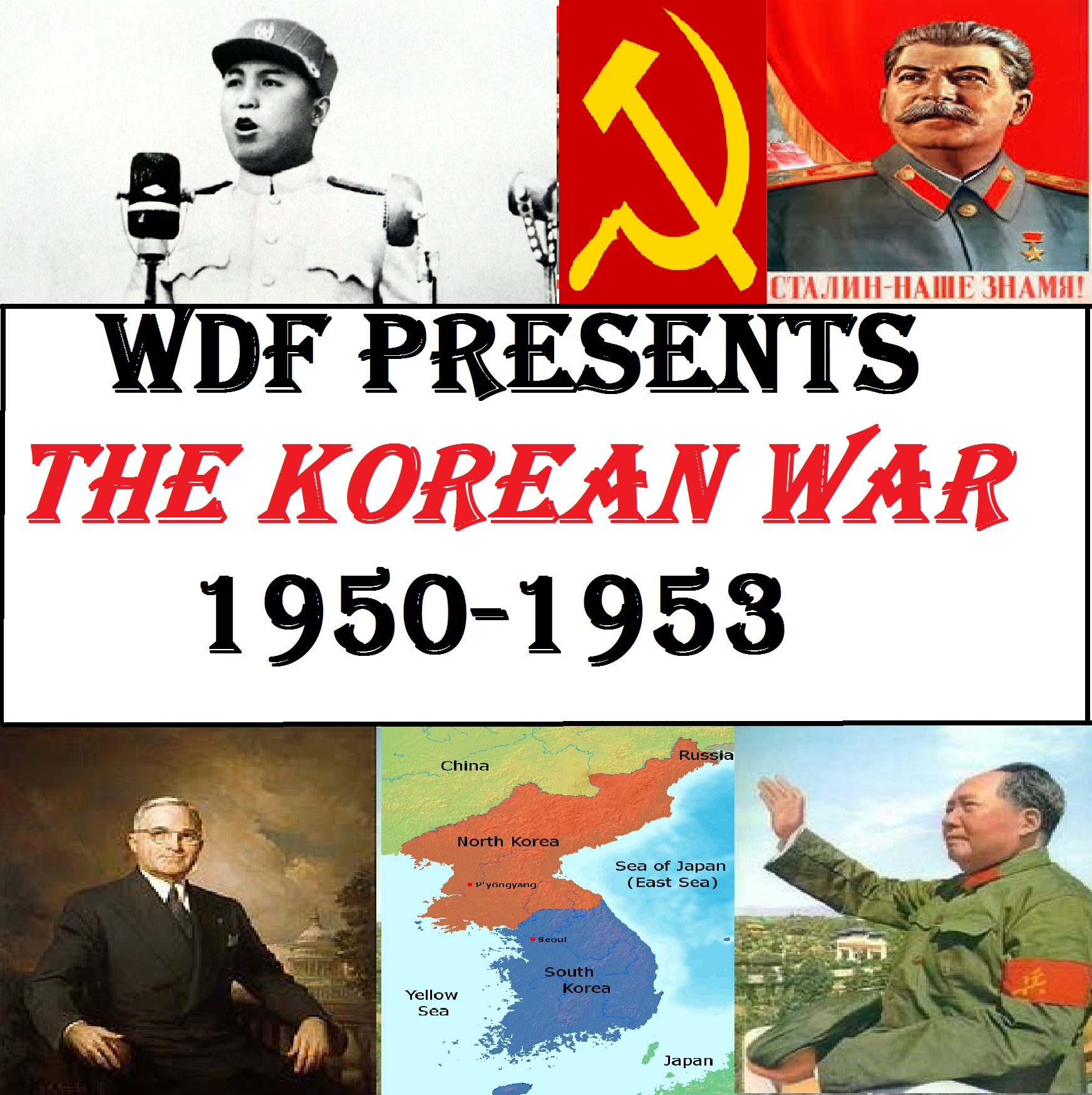Our current podcast series looks at the Korean War from a perspective you may well find surprising, if not controversial...