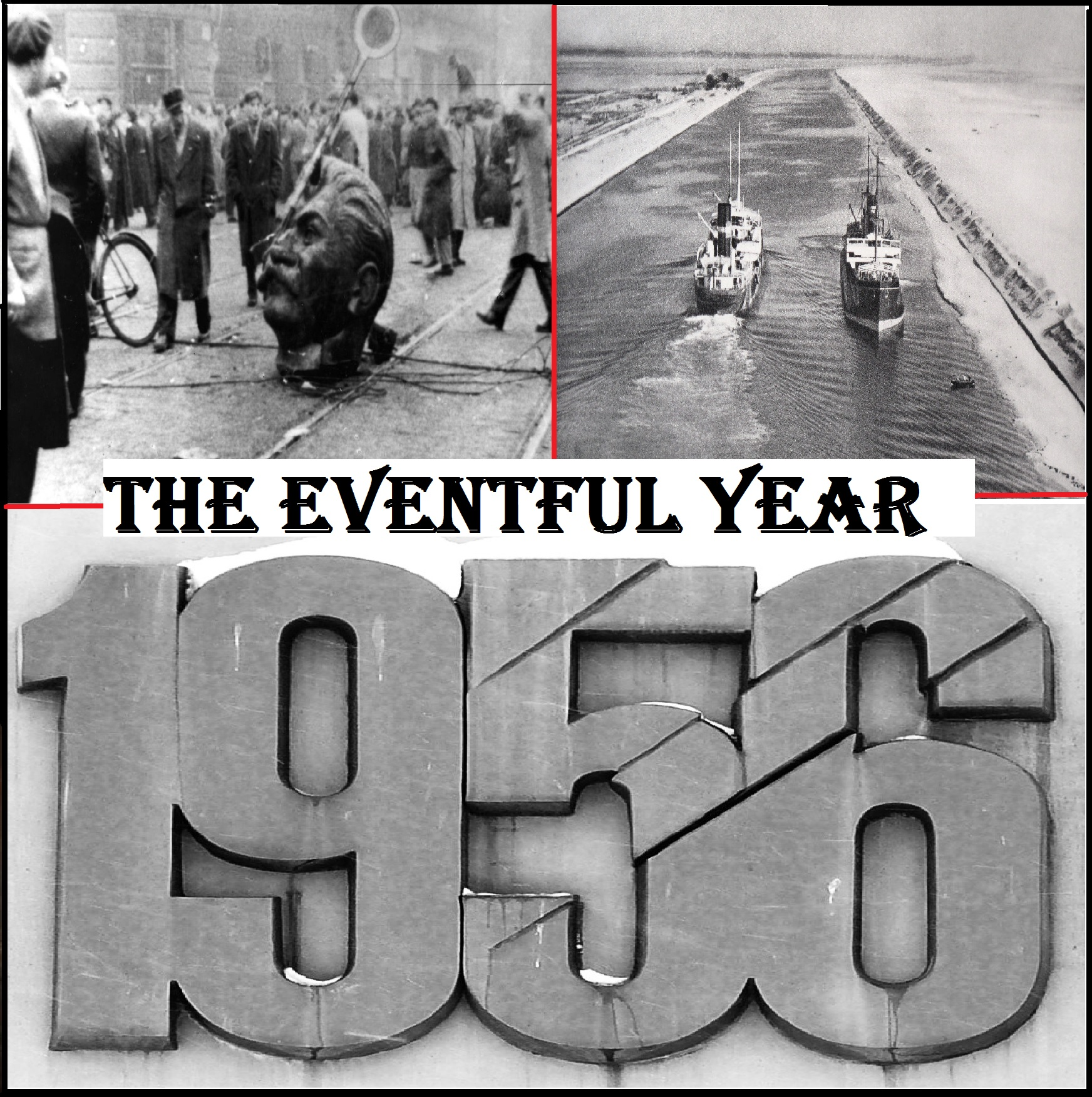 1956 - The Eventful Year  is a series available in part to all listeners, and in full  to Patrons at the $5 level . It's part of my goal to diversify my content base and reach more people with a large portfolio of history podcasts.