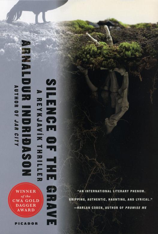 Silence of the Grave, a Reykjavik Murder Mysteries (No. 2) by Arnaldur Indridason