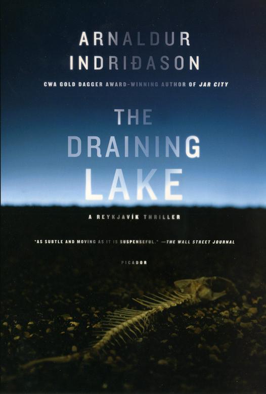The Draining Lake,An Inspector Erlendur Novel (Reykjavik Thriller) by Arnaldur Indridason