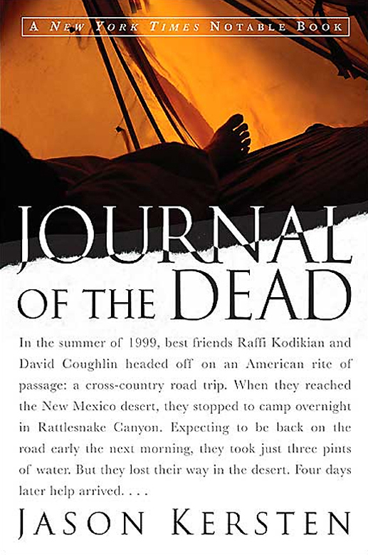 Journal of the Dead, reconstructed true-crime story by Jason Kersten