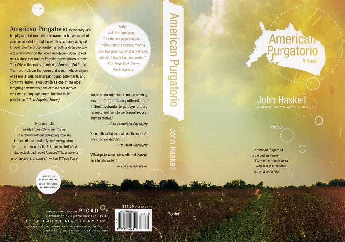 American Pergatorio, a novel by John Haskell