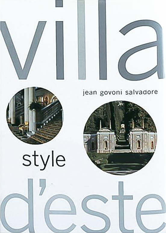 Villa D Este Style by Jean Govini Salvadore.
