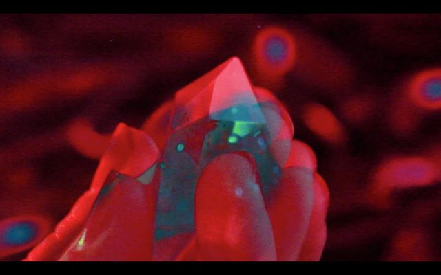 S T A R L I T  M I R E — video still from a personal ongoing project / practice #practice #project #wip #personal #starlitmire #holyfire #psychictv #topy #theetempleofpsychickyouth #chaos #crystals #quartz #red #aqua #blue #video #still #videoart #videoartists
