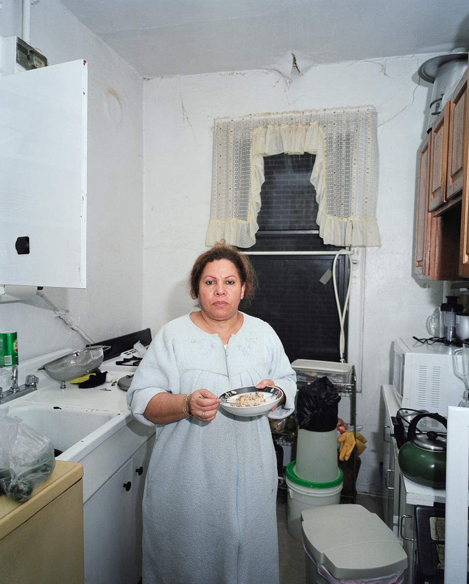 Mami in the Kitchen, 2006. Washington Heights, NYC, U.S.