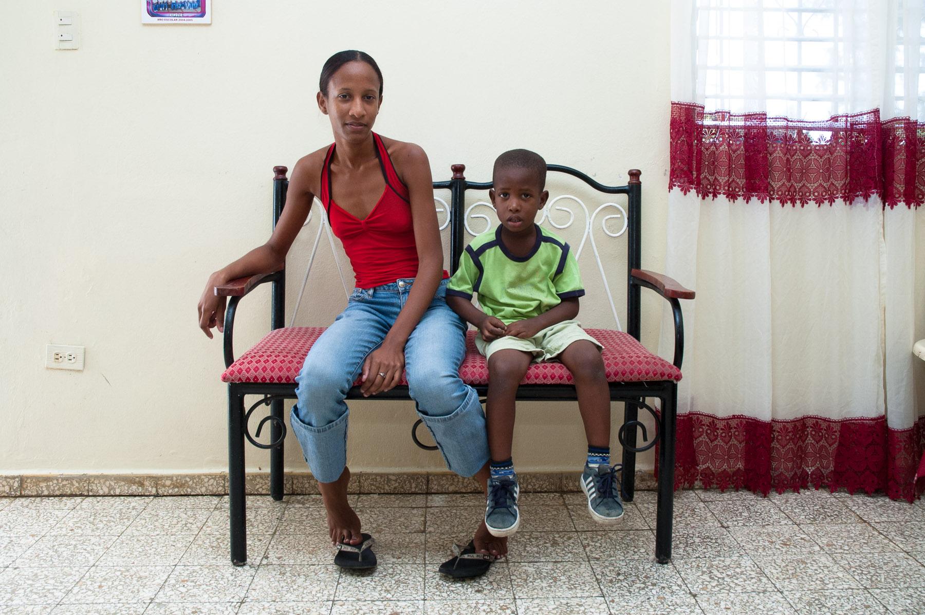 Hindira y Antonio Jose, 2006. Las Caobas, Santo Domingo, R.D.