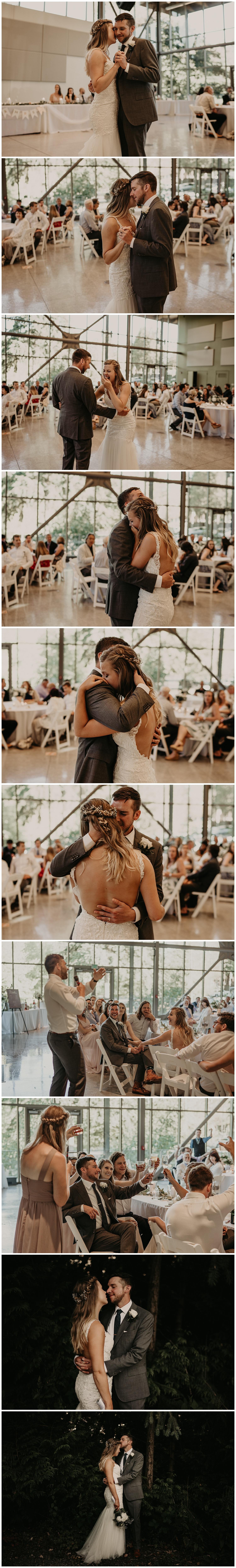 North Seattle First Dance Wedding Photos
